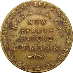 SA Union: Natal Amateur Athletics & Cycling Association, New Durban Sports Ground Opening
