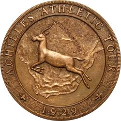 SA Union: Achilles Athletic Tour of South Africa Award
